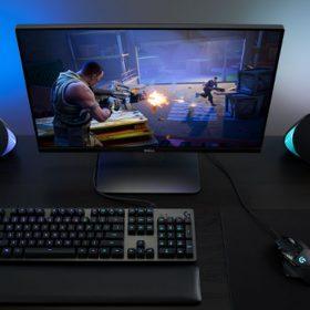 Logitech presenta unos altavoces con luces que reaccionan al gameplay