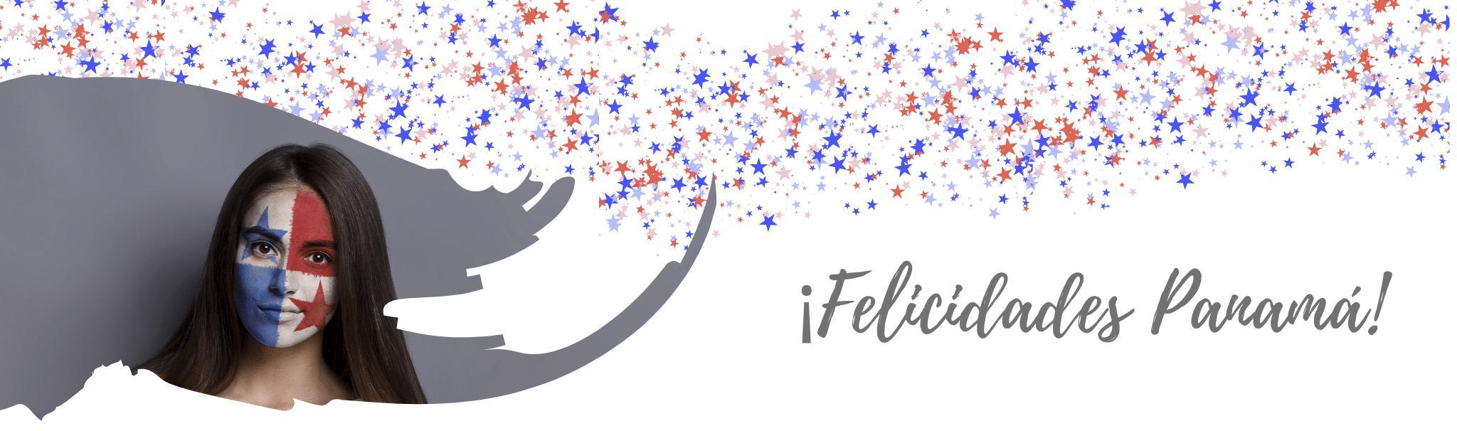 Banner Feliz mes de la patria Panamá - Cloud Panamá